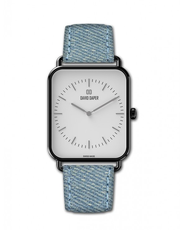 David Daper Watches Watch: Time Square - 01 BL 01 J01