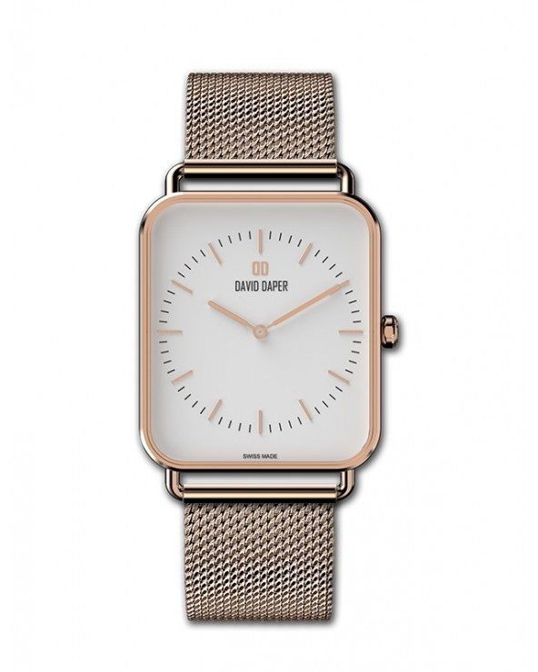 David Daper Watches For Her: Time Square - 01 RG 01 M01