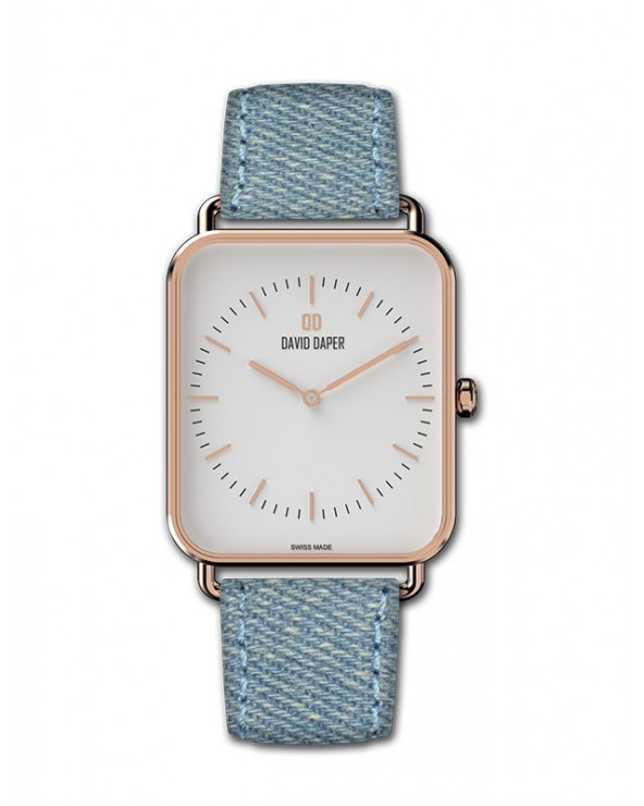 David Daper Watches For Her: Time Square - 01 RG 01 J01