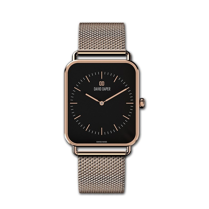 David Daper Watches Watch: Time Square - 01 RG 02 M01
