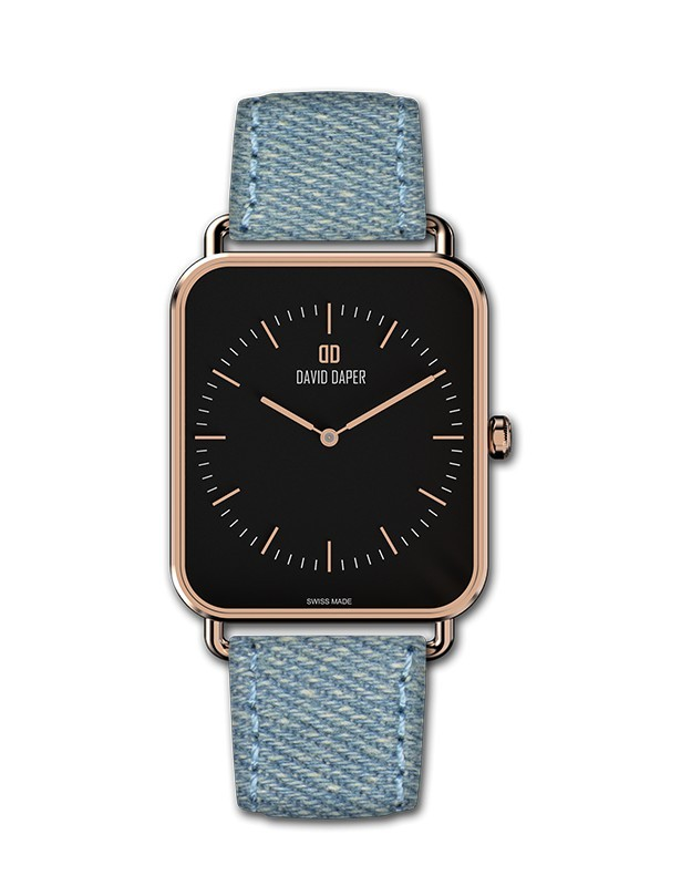 David Daper Watches Watch: Time Square - 01 RG 02 J01