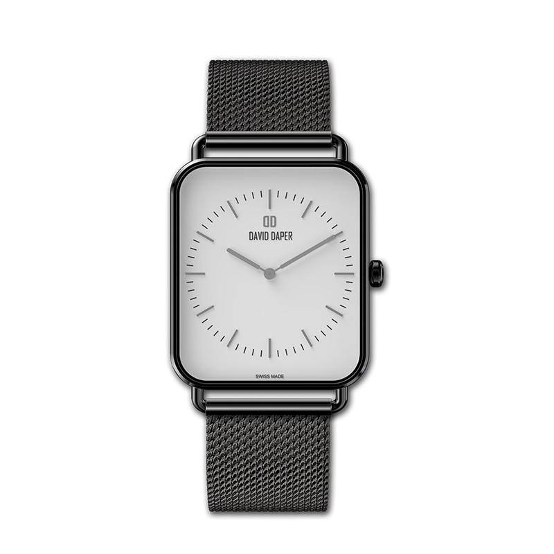 David Daper Watches Watch: Time Square - 01 BL 01 M01