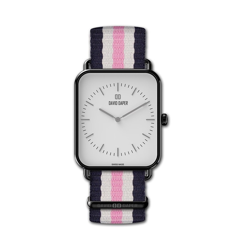 David Daper Watches Watch: Time Square - 01 BL 01 N01