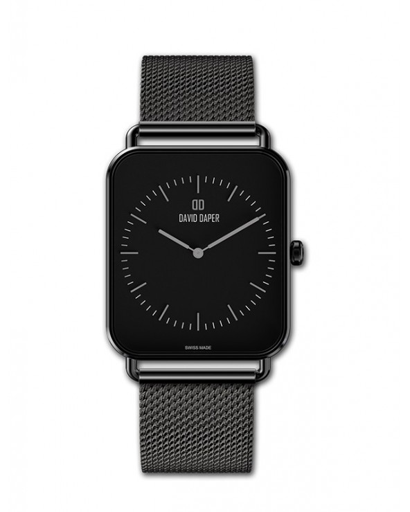 David Daper Watches For Her: Time Square - 01 BL 02 M01