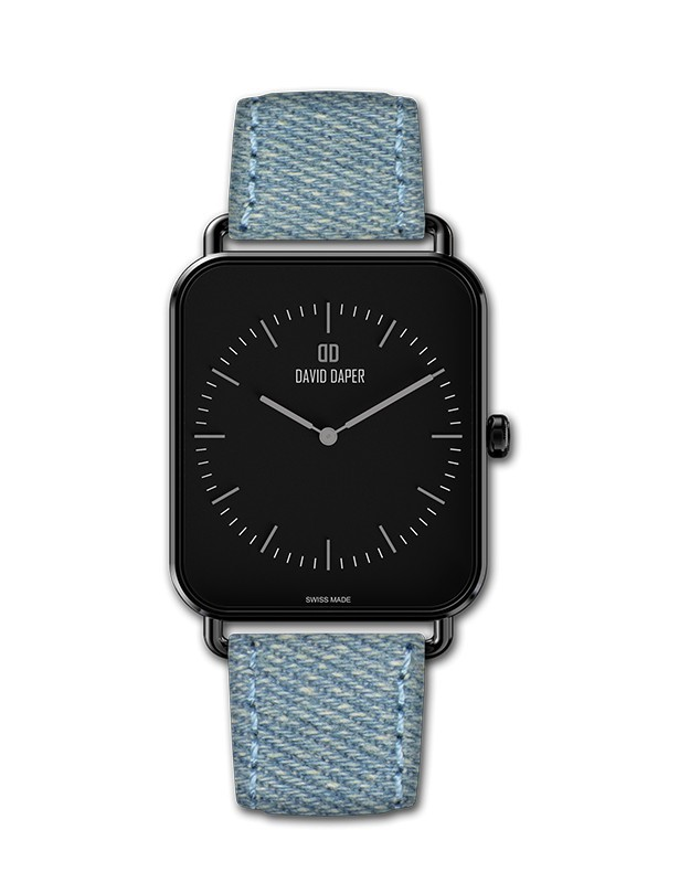 David Daper Watches Watch: Time Square - 01 BL 02 J01