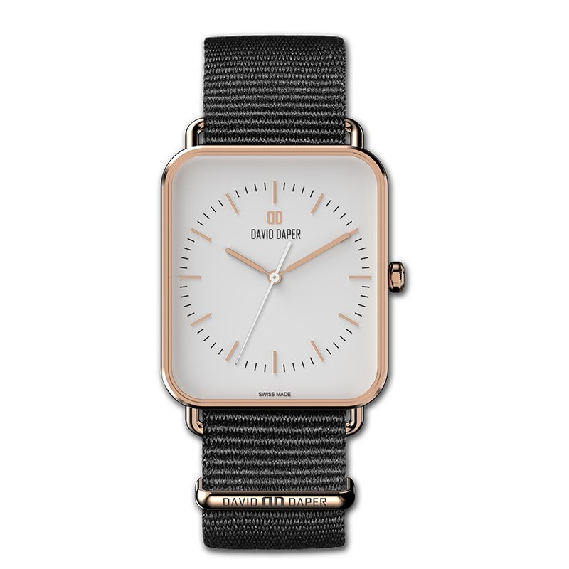 David Daper Watches Watch: Time Square - 02 RG 01 N01