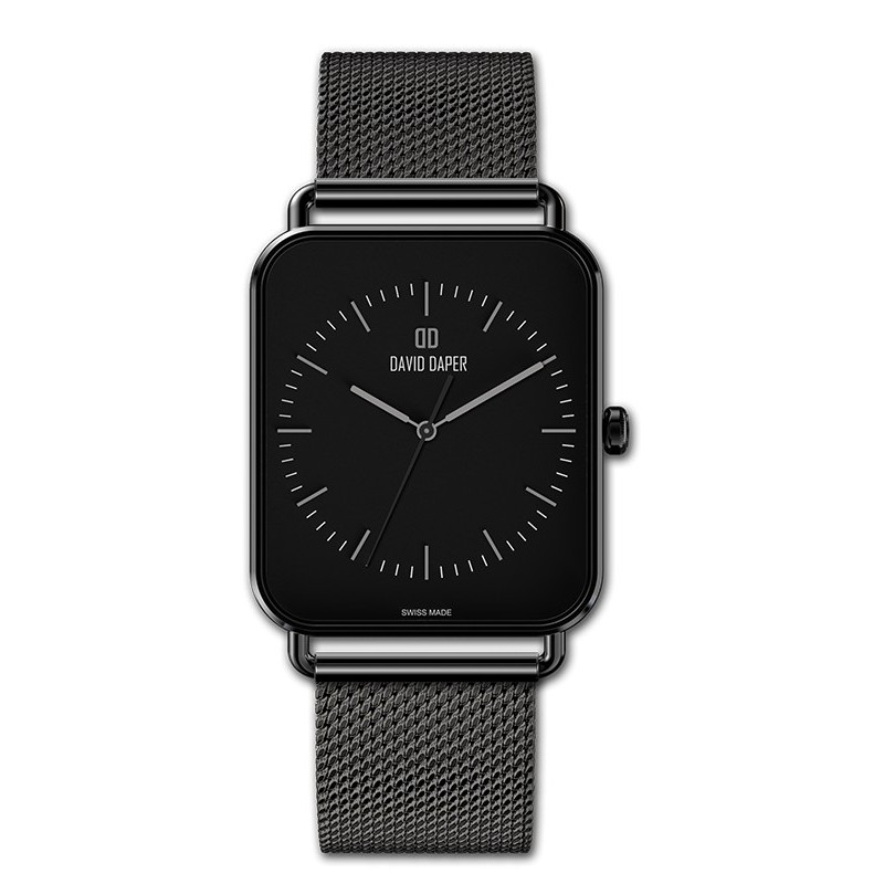 David Daper Watches Watch: Time Square - 02 BL 02 M01