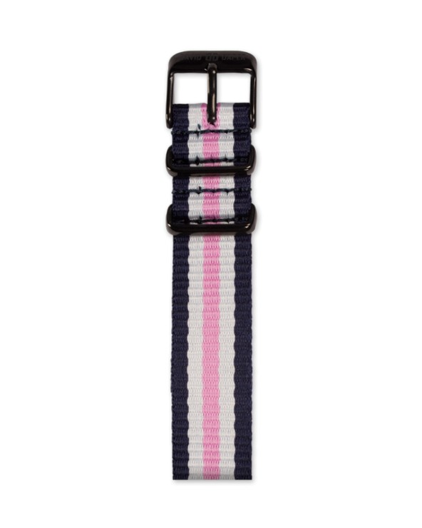 David Daper Watch Strap Time Square 01 BL N01