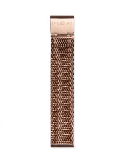 David Daper Watch Strap Time Square 01 RG M01