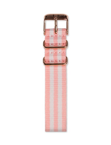 David Daper Watch Strap Time Square 01 RG N01