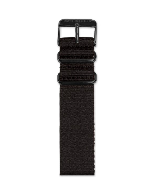 David Daper Watch Strap Time Square 02 BL N01