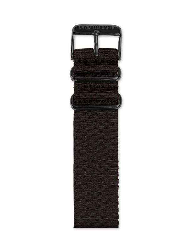David Daper Watch Strap Time Square 02 BL N01