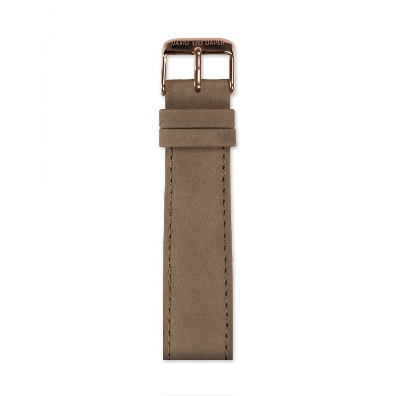 David Daper Watch Strap Time Square 02 RG C01