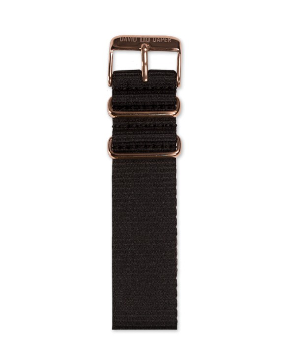 David Daper Watch Strap Time Square 02 RG N01
