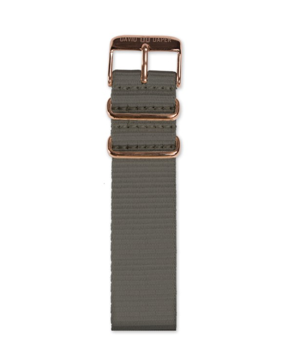 David Daper Watch Strap Time Square 02 RG N02