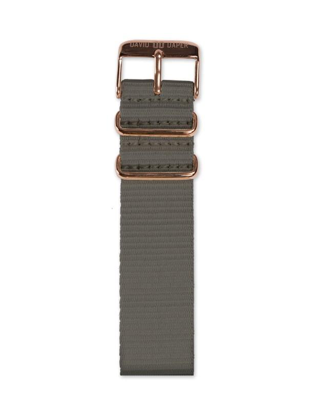 David Daper Watch Strap Time Square 02 RG N02