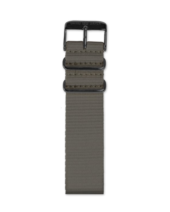 David Daper Watch Strap Time Square 02 BL N02
