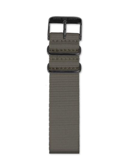 David Daper Watch Strap Time Square 02 BL N02