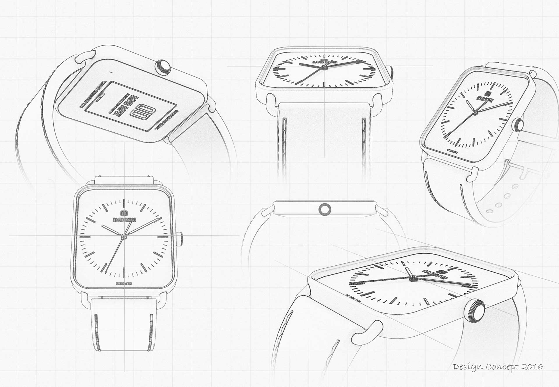 David Daper - Distinguished Watches - Swiss Design