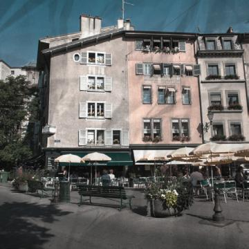 David Daper - Cool Spots in Geneva - Place du Bourg-de-Four